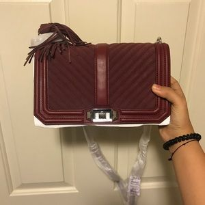 ❗️Sale❗️Rebecca Minkoff suede crossbody bag
